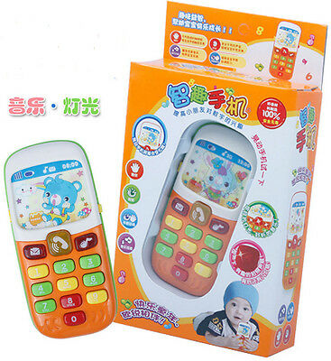 Baby  Musical  Phone Toddler  Educational  Gift Toy New Sound  Learning