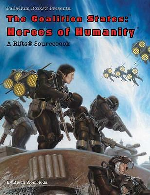 Rifts RPG: Coalition States: Heroes of Humanity PAL 0889