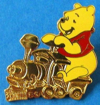 Disney Cast Lanyard Winnie the Pooh & Friends Train Series - Pooh Engineer  Pin