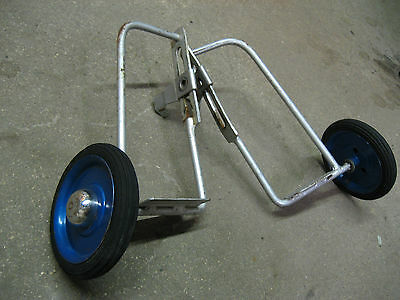 vintage adjustable bicycle training wheels with steps, antique 1950-60s?