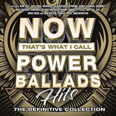 Now That's What I Call Power Ballads: Hits by Various Artists (CD, Feb-2016) NEW
