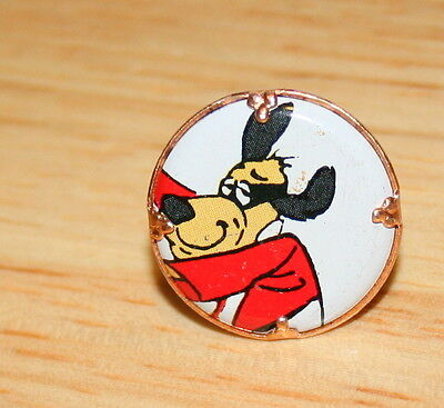 2 Vtge Toy GumBall Machine Prize Ring Hong Kong Phooey Hanna Barbera 1970s HB