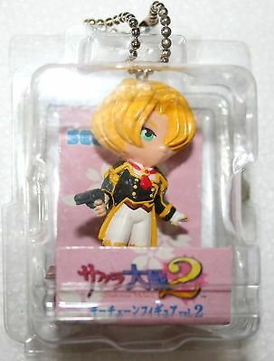 "Sakura Wars 2 Keychain 1998 Sega 3"" Video Game Anime Figure Mint Maria"