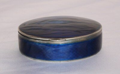 Magnificent 19Th Century 935 European Enameled Sterling Silver Box