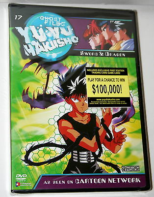 DVD The Yu Yu Hakusho #17 Sword & Dragon Japanese Anime New NOS Sealed 2003