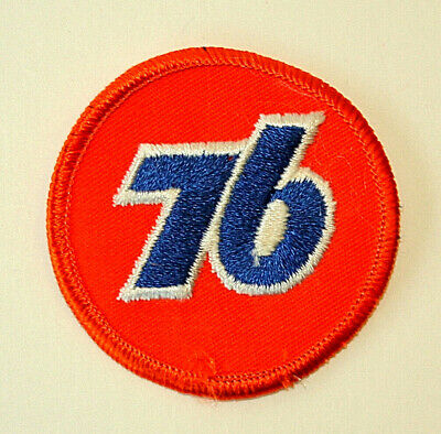 Vintage Union 76 Oil & Gas Station Racing Cloth Car Jacket Patch New NOS 1960s