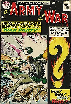 Our Army at War DC Comics #151 Comic Book VG- 3.5 1965 1st Enemy Ace