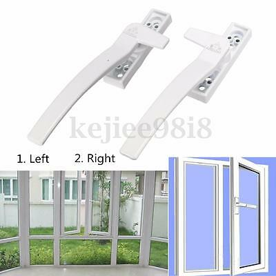 Window Safety Handle Left Or Right Single Locking Latch Catch Lock + 2 Screws