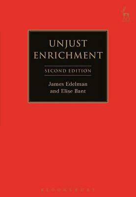Unjust Enrichment by Elise Bant (English) Paperback Book Free Shipping!