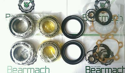 Land Rover Series 2, 2a, 3, Wheel Bearing Kit, Enough for the Front or Rear Axle