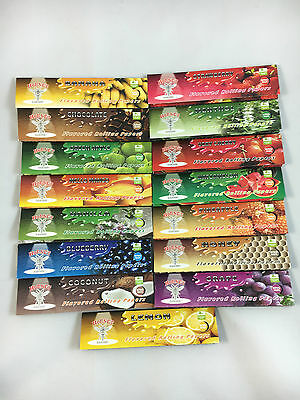 Hornet Flavoured Rolling Papers King Size x 2 cigarette smoking tobacco paper
