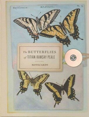 The Butterflies of Titian Ramsay Peale Notecards by American Museum of Natural H