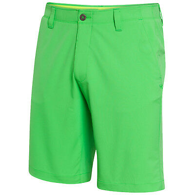 Under Armour Mens Match Play Golf Shorts - New Chino Ua Flat Front Pants 2017