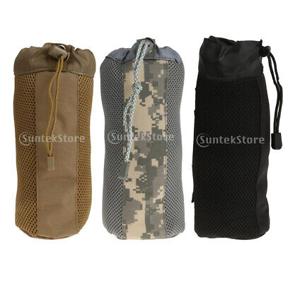 Outdoor Tactical Gear Military Molle System Water Bottle Bag Kettle Pouch 800ml