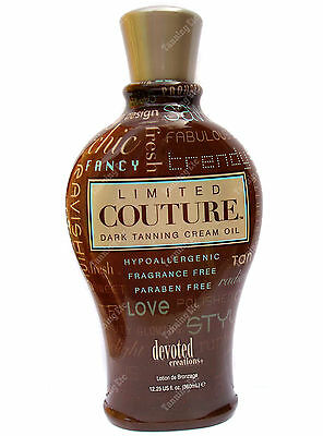 Devoted Creations LIMITED COUTURE 360ml sunbed lotion