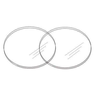 Ganaching Plate Round Acrylic Ganache Board Disc Cake Decorating Perspex (DS11)