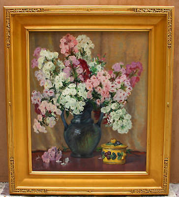 Magnificent Oil On Canvas Painting By Zimmermann. F.a. California Listed Artist