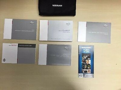 Nissan Quest 2016 Owners Manual Books  / In Case // Free Shipping