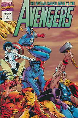 OFFICIAL MARVEL INDEX TO THE AVENGERS #4, Jeff JOHNSON, Nice! NM New (1995)