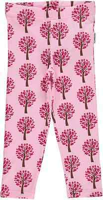 Maxomorra Leggings Cropped Tree I Mädchen kurze Hose Gr. 98-140