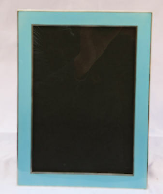 Magnificent 1900 French Sterling Silver Enamaled Picture Frame