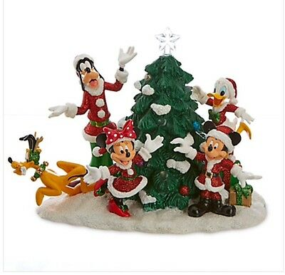 Disney Parks Holiday Mickey Woodland Creatures Musical Christmas ...