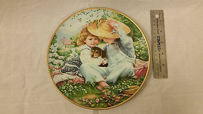 """50Th Anniversary Collectible Plate Sandra Kuck Issue """"a Time To Love"""""""