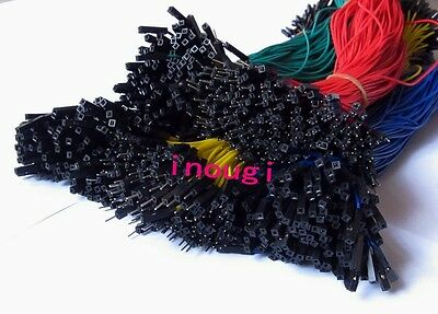 5colors 30cm 1p 2.54mm Male to Female Dupont Wire Jumper cable For Arduino 40pcs