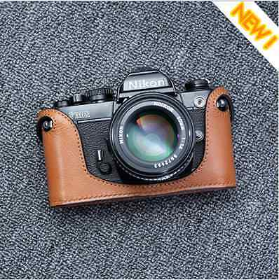 New Leather Camera Case For Nikon FM FE FM2 FE2 FM3a