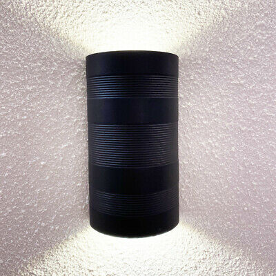 6W LED COB Outdoor Lamp Building Exterior Wall Sconce Up/Down Light Fixture Door