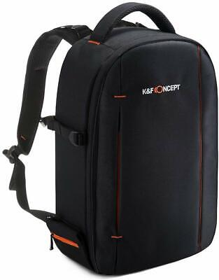 K&F Concept Waterproof DSLR SLR Camera Backpack Bag Case for Nikon Canon Sony