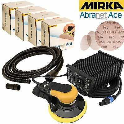 Mirka CEROS 650CV Electric Sander Solution with Abranet ACE Discs Expert Kit