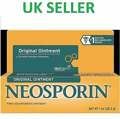 *UK* LARGEST SIZE - Neosporin Original Ointment Antibiotic First Aid 28.3g 1 oz