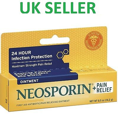 *UK* Neosporin Original Pain Relief Ointment Antibiotic First Aid Dual Action
