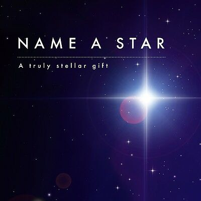 Name A Star Gift Set