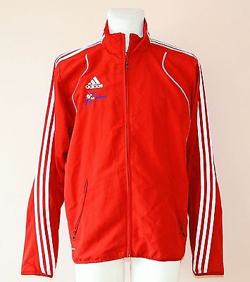 Wales Team, Boxing Team, Red Jacket By Adidas, Mens Large