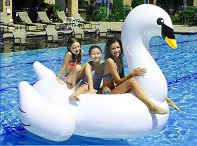 "Inflatable Giant Swan 75"" Rideable Toy Party Leisure Giagantic Float 388328-LF"