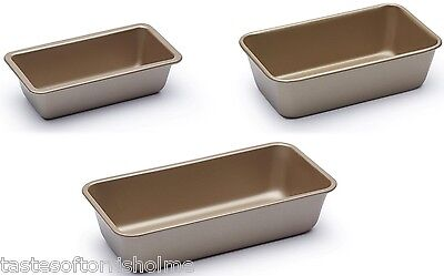 Paul Hollywood Bakeware Seamless Non Stick Bread Baking Loaf Tin & Bar Cake Pan