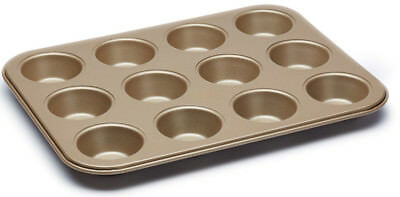 Paul Hollywood Bakeware Non Stick 12 Hole Mince Pie / Fairy Cake Tin Sheet