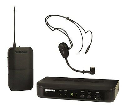 Shure BLX14/P31 Single Channel Bodypack Headset System