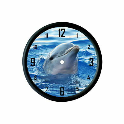 Dolphin Wall Clock - Sea Mammal Animal Lover Photo Gift