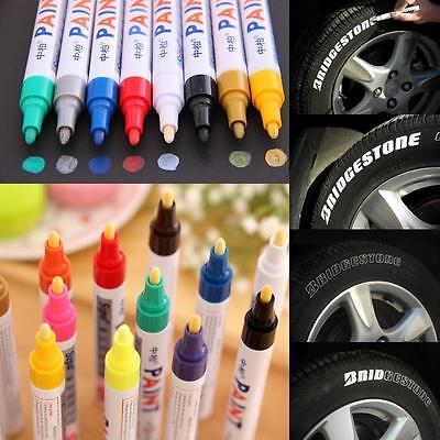 Useful Waterproof Permanent Paint Marker Pen Colorful Car Tyre Tire Tread Rubber