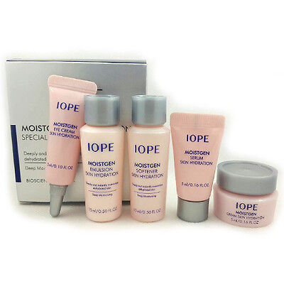 [IOPE] Moistgen Skin Hydration Special Gift Kit 5 Items / Moisture Samples Size