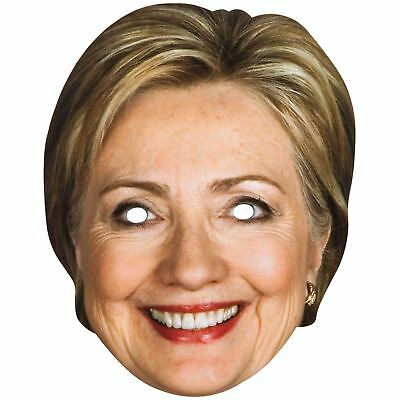 Maskarade Official Hillary Clinton US Presidential Candidate Cardboard Face Mask