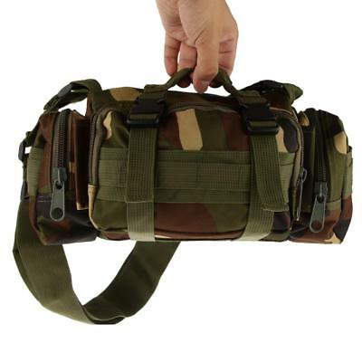 Waterproof Tactical Camping Hiking Sport Military Army Travel Waist Bag Pack