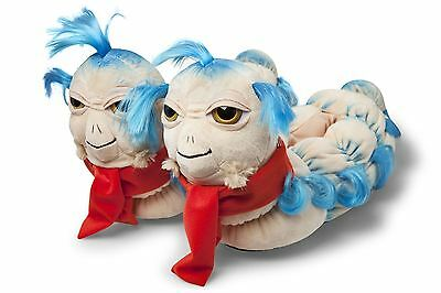 Labyrinth Ello The Worm Soft Warm Plush Slippers One Size