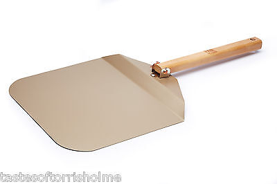 Paul Hollywood Bakeware Non Stick Pizza Dough Lifting Peel & Folding Handle
