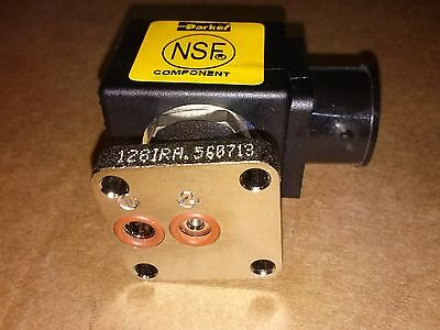 Parker 3 Way Electronic Solenoid Valve Cimbali M21 Junior ZB09 Coil in 220v
