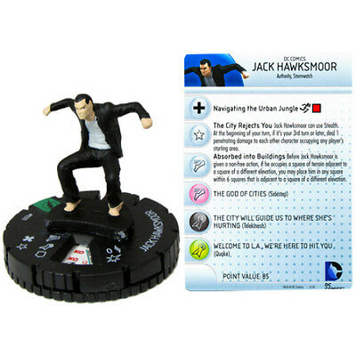 Jack Hawksmoor 033 - The Flash Heroclix