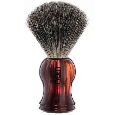Muhle HJM Shaving Brush Pure Badger Plastic Tortoiseshell Made in Germany